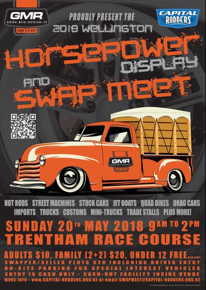 Capital Rodders Swap Meet 20th May 2018